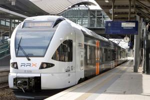Der RRX auf der Linie der R3. Quelle: rrx.de