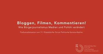"""Wie man die """"Bürgerjournalismus""""-Diskussion endgültig beenden kann"""
